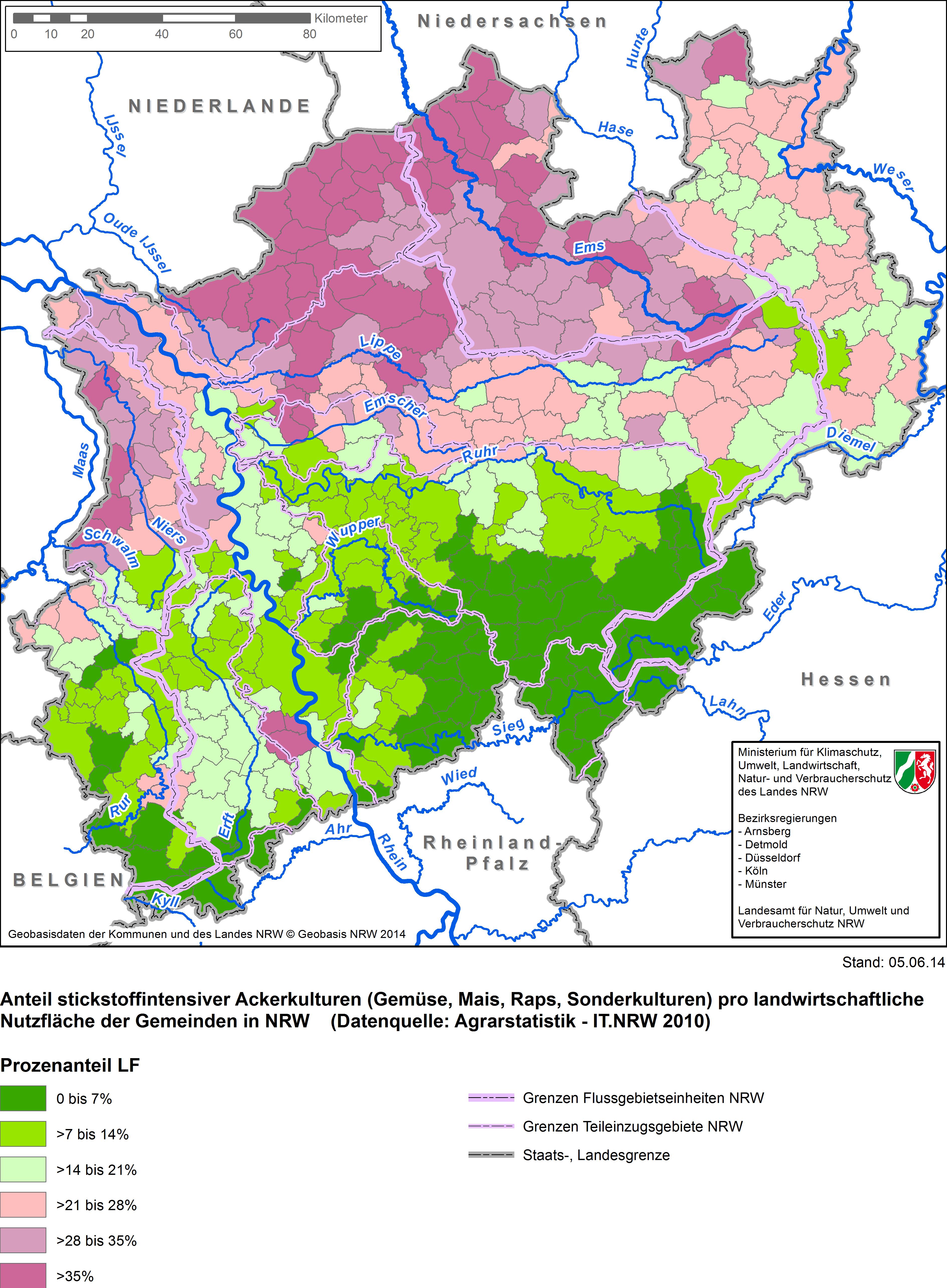 Grundwasserstand Karte Nrw.Grundwasserspiegel Nrw Karte Karte