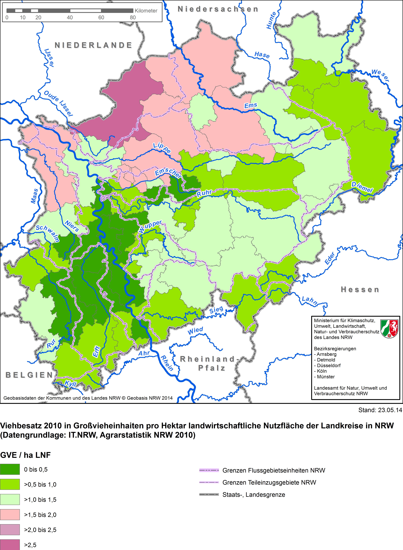 Grundwasserstand Karte Nrw.Kampagne Gülleflut Und Nitratangst Aus Der Wiedervorlage Die