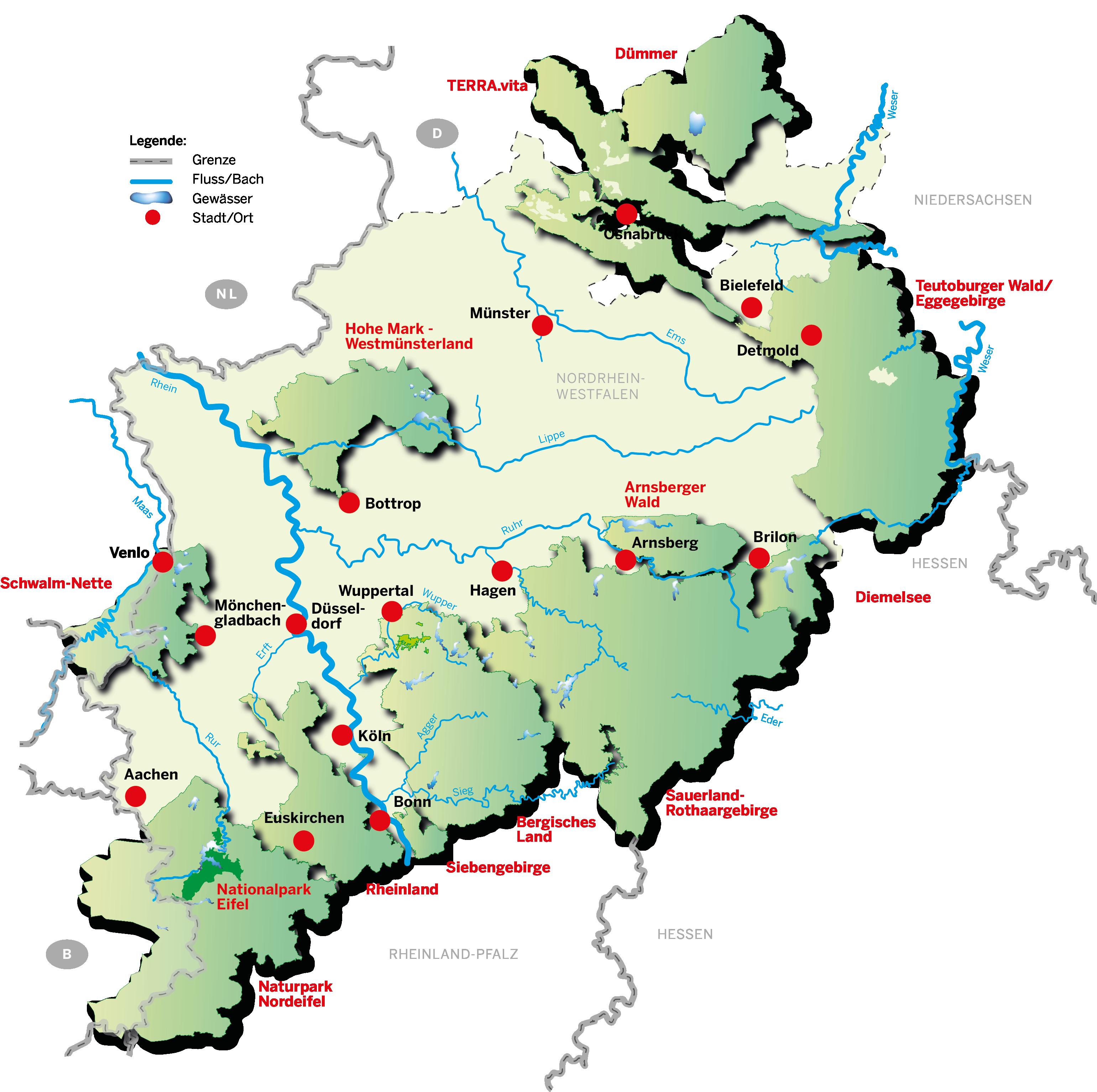 Eifel Karte Pdf.Umweltministerium Nrw Naturparke